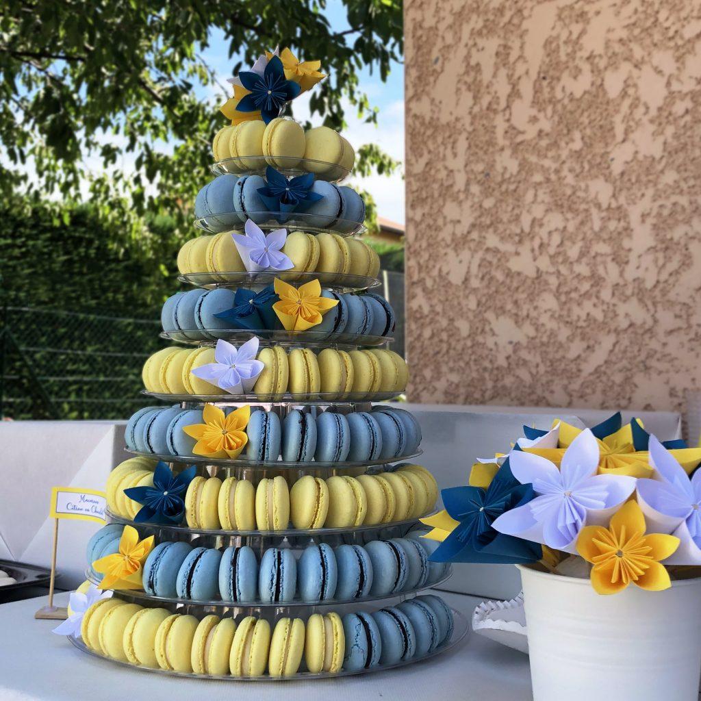 pyramide macarons mariage