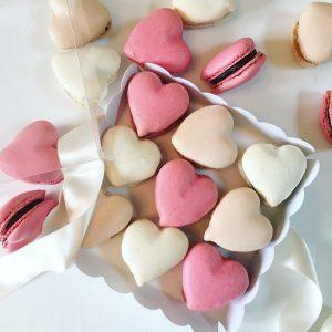 Boite macarons Saint Valentin