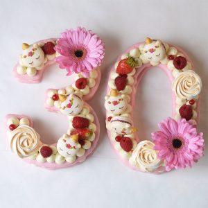 number cake lyon sans gluten